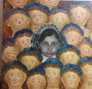 Artwork by Solmaz Vazifehsadabad | Portrait2020 | MenhaArt