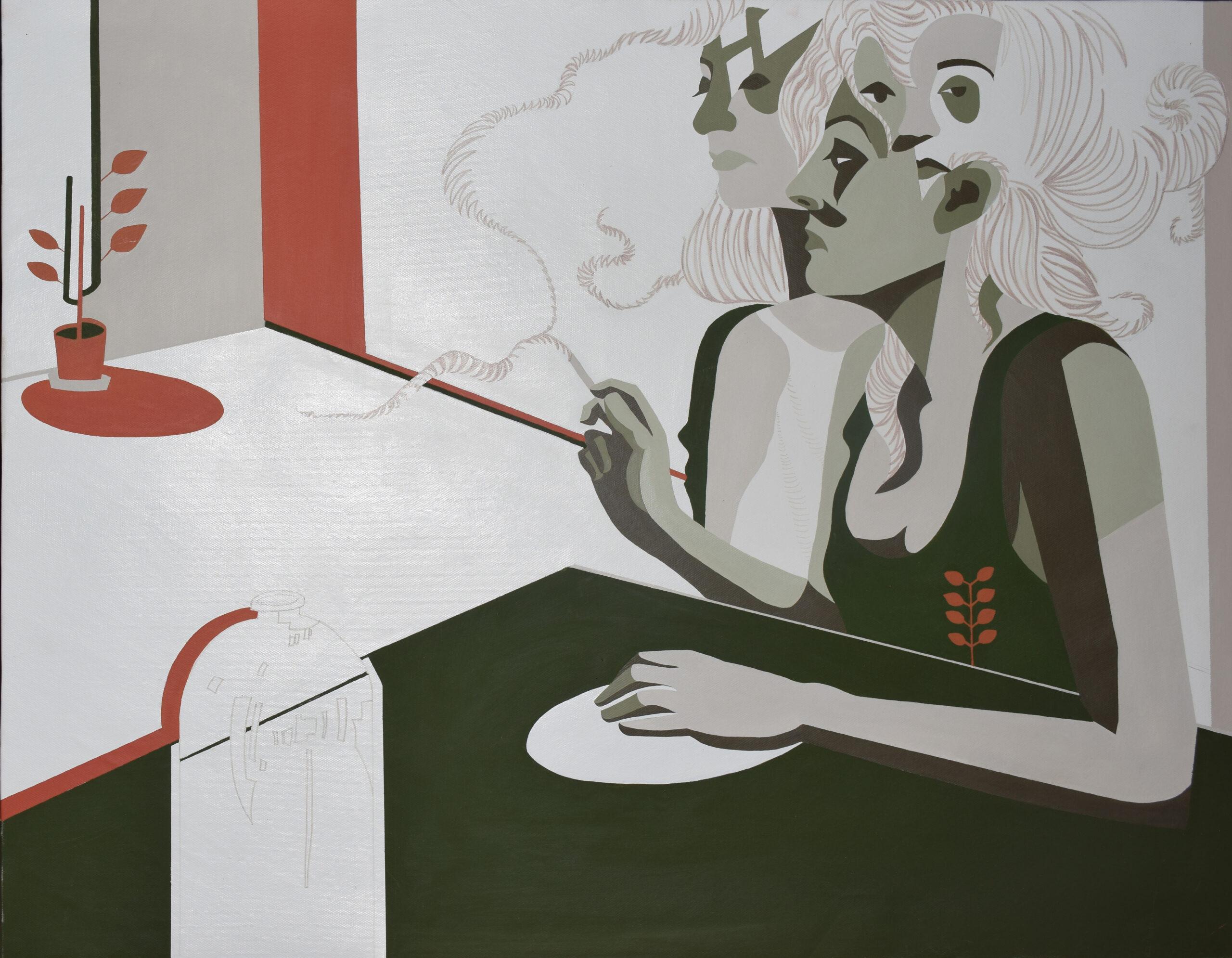 Artwork by Sara Tavakoli Asl | Portrait2020 | MenhaArt