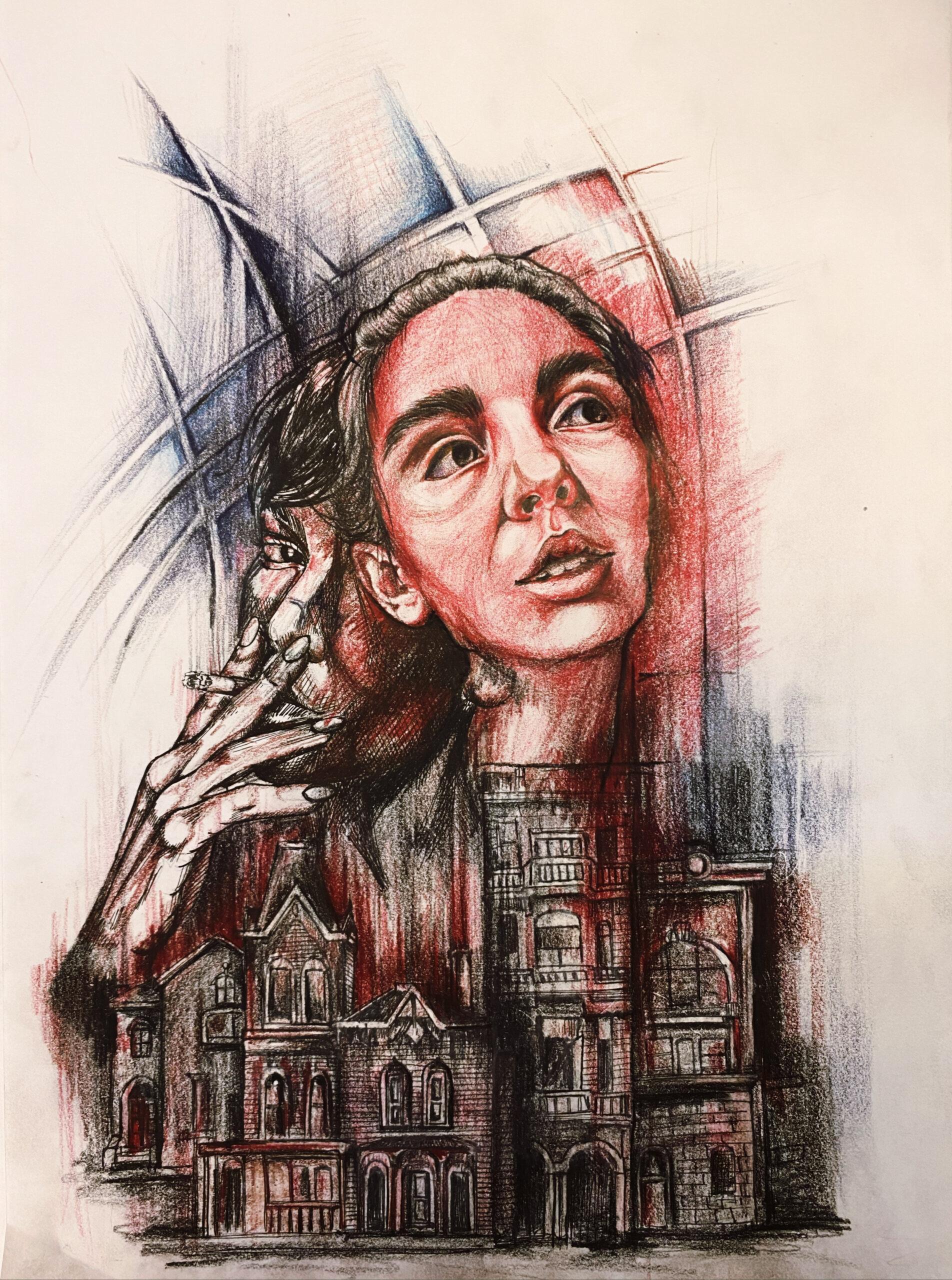 Artwork by Zahra Sedaghat | Portrait2020 | MenhaArt