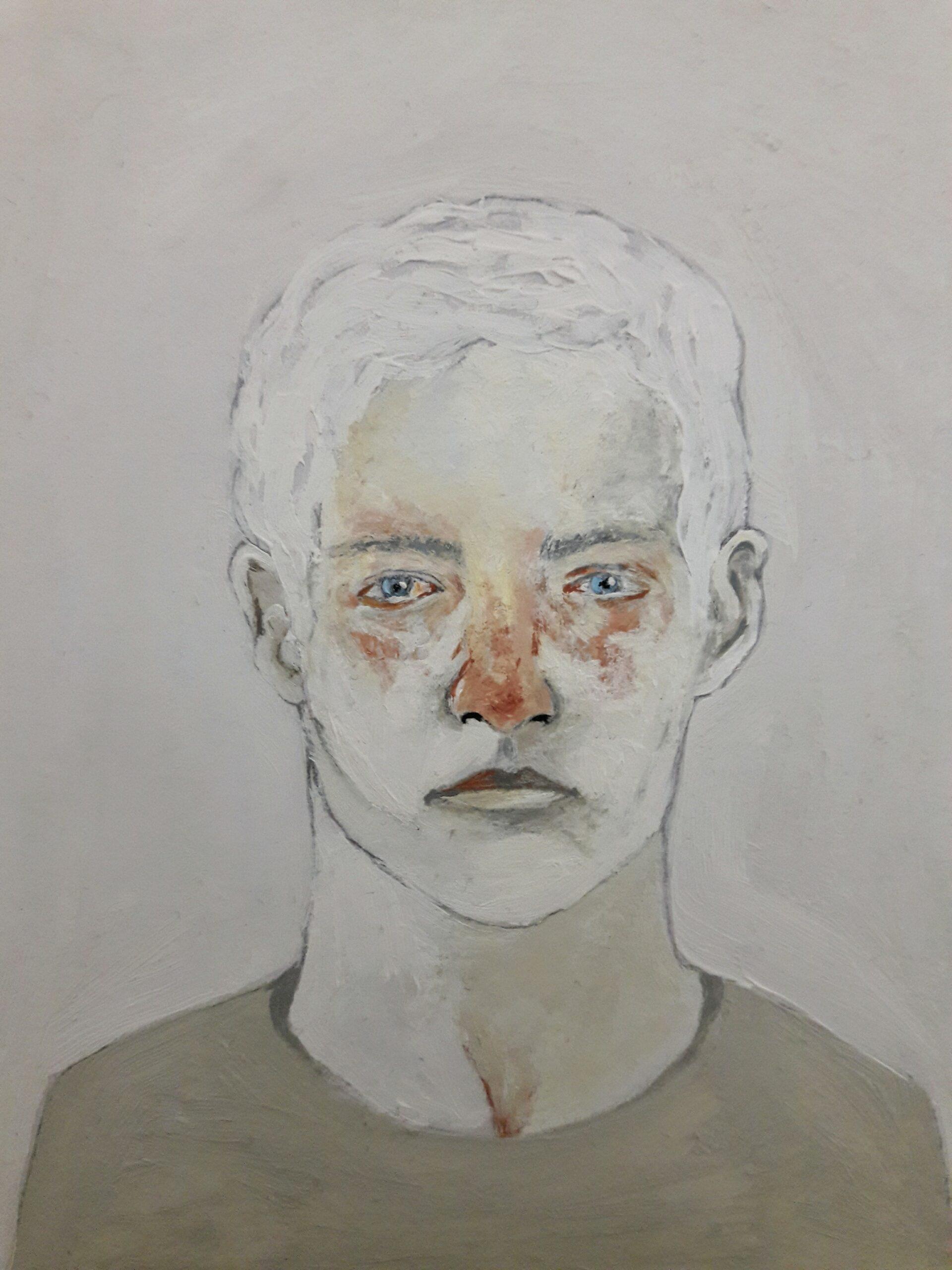 Artwork by Nasrin Amiri Ramsheh | Portrait2020 | MenhaArt