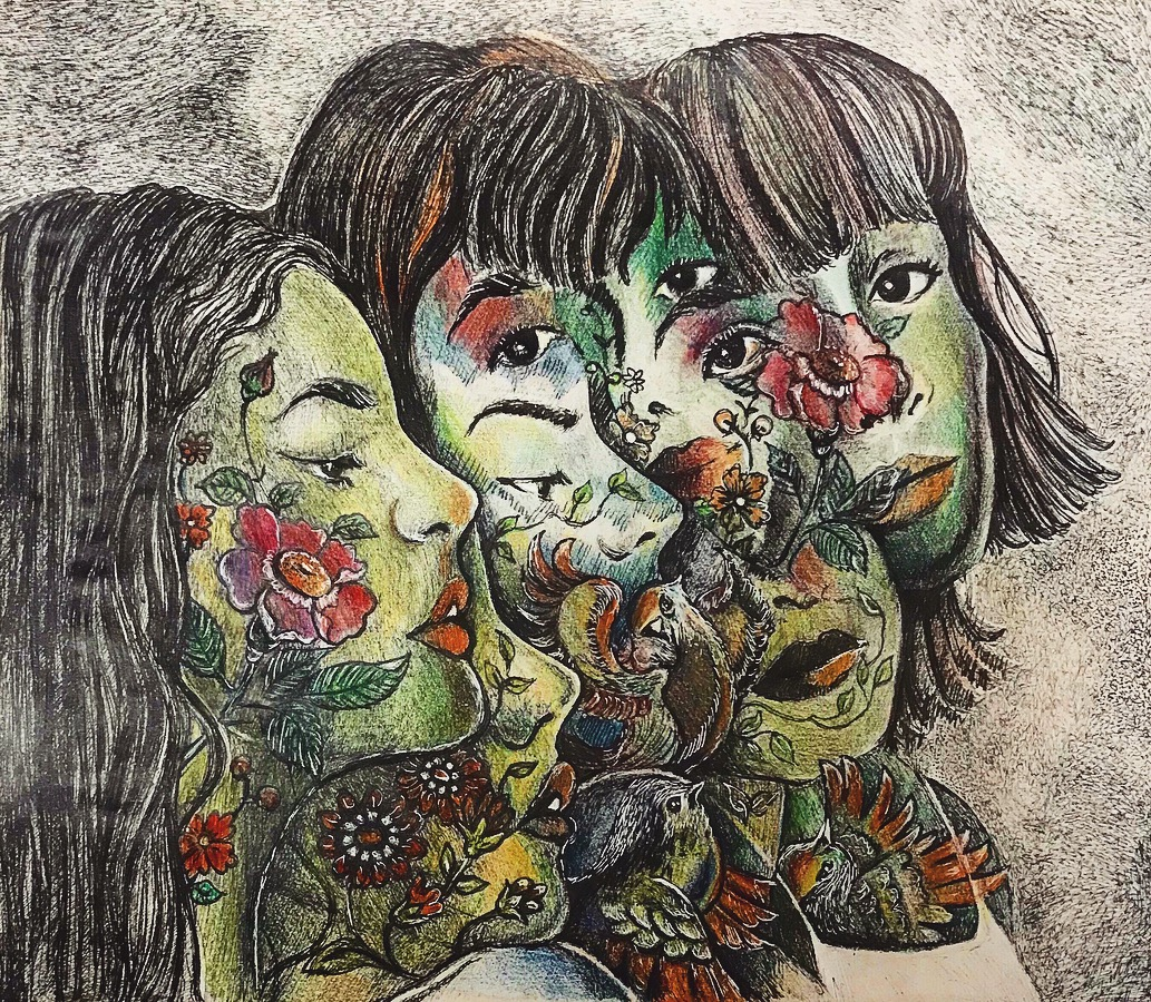 Artwork by Nafiseh Mohammadi | Portrait2020 | MenhaArt