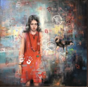 Artwork by Bita Mohabbati | Portrait2020 | MenhaArt