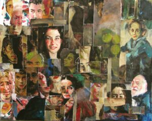 Artwork by Elmira Rezakhani | Portrait2020 | MenhaArt