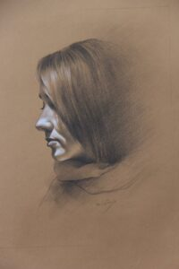 Artwork by Mehri Sadeghi | Portrait2020 | MenhaArt
