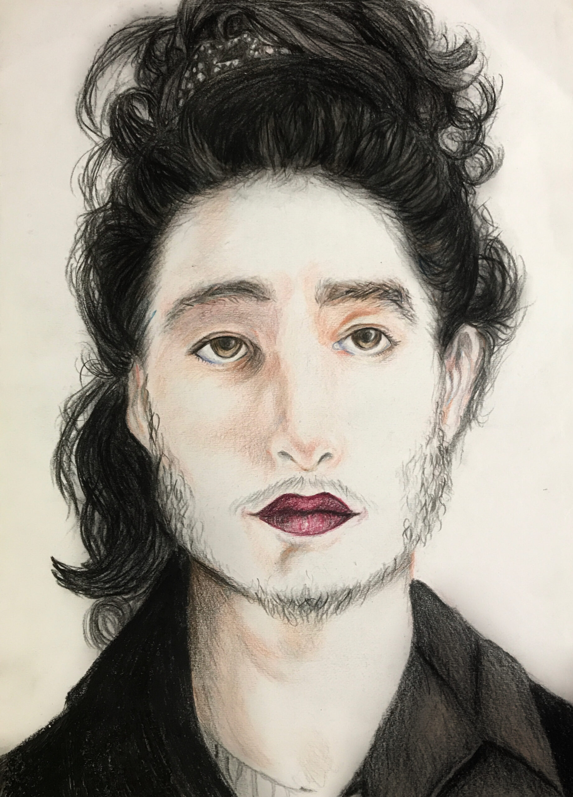 Artwork by Pourandokht Vakili | Portrait2020 | MenhaArt