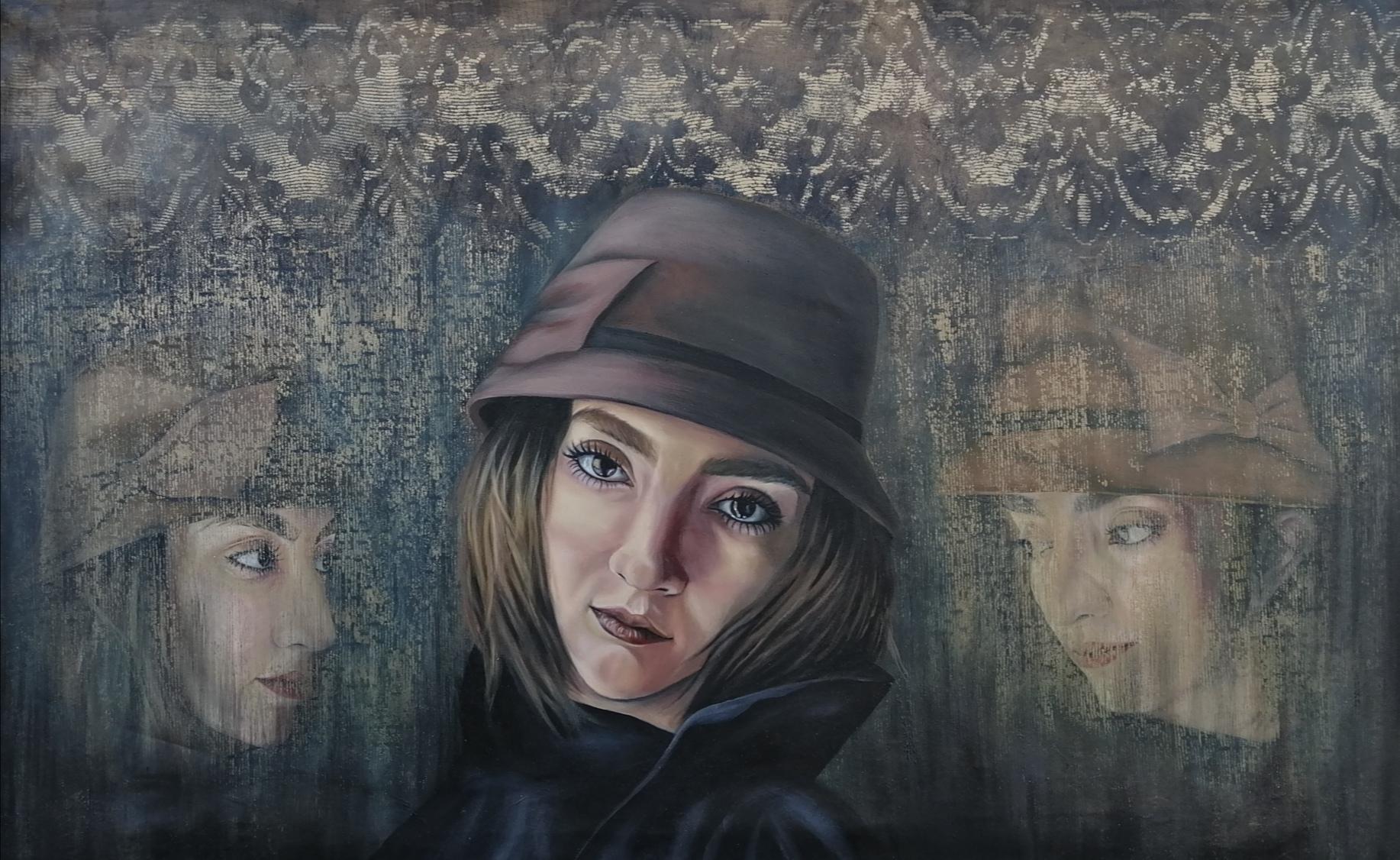 Artwork by Mohaddeseh Iranpanah | Portrait2020 | MenhaArt