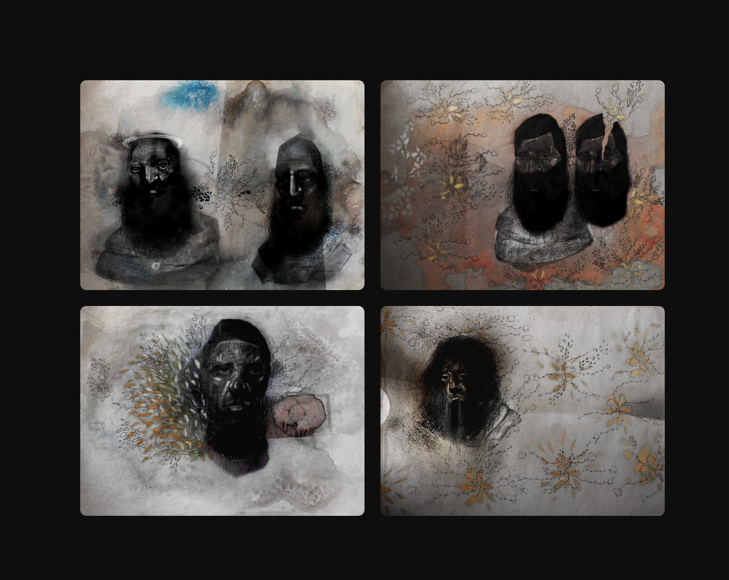 Artwork by Ahmadreza Ghaem Amiri | Portrait2020 | MenhaArt