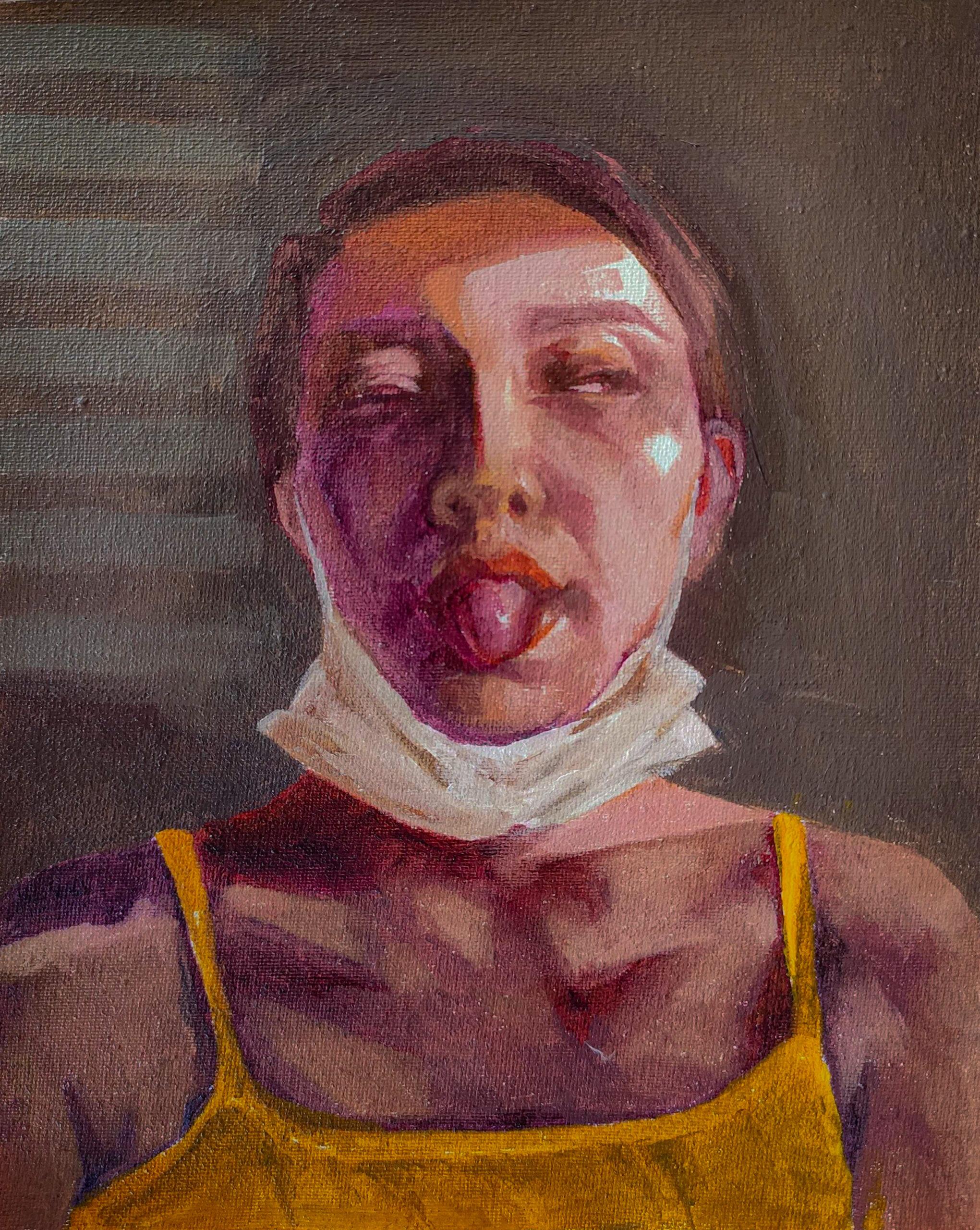 Artwork by Ayda Salami | Portrait2020 | MenhaArt