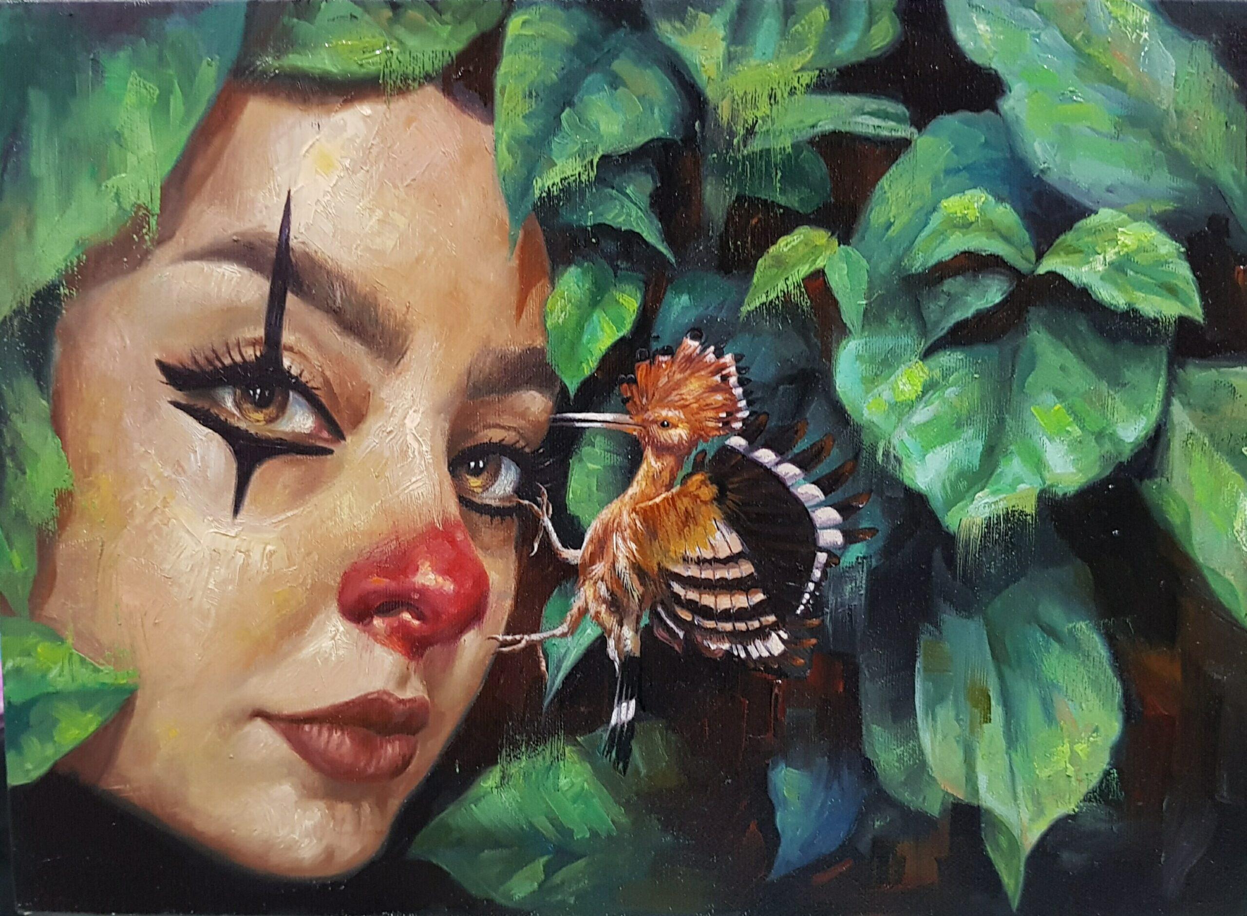 Artwork by Zahra Saboori | Portrait2020 | MenhaArt