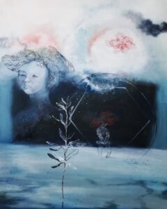 Artwork by Maryam Nick Bakhsh | Portrait2020 | MenhaArt