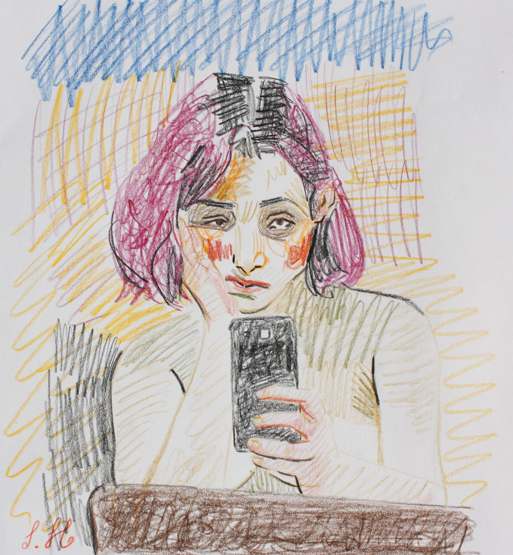 Artwork by Sahar Homaeifar | Portrait2020 | MenhaArt