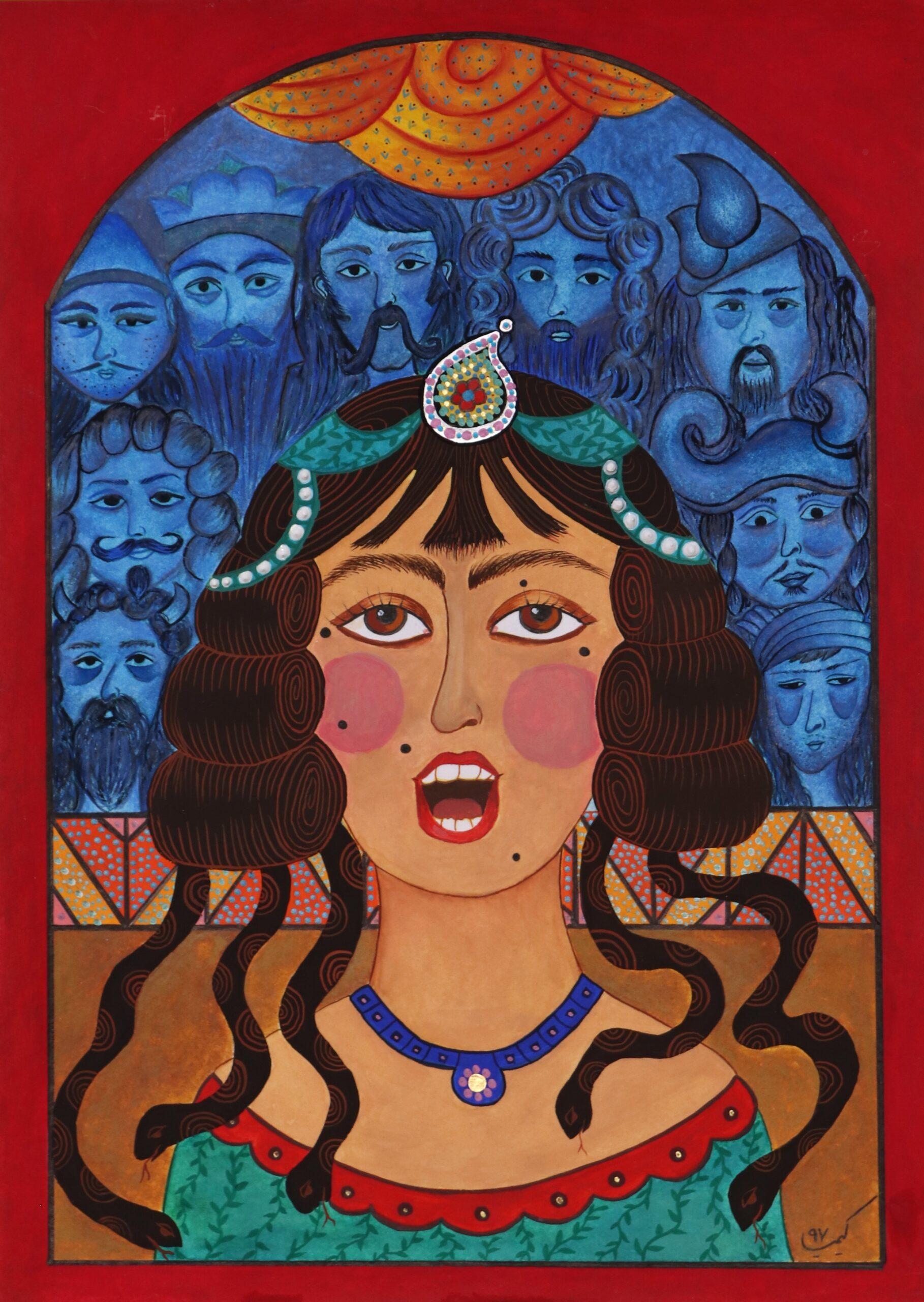 Artwork by Kimia Kaveh Poor | Portrait2020 | MenhaArt