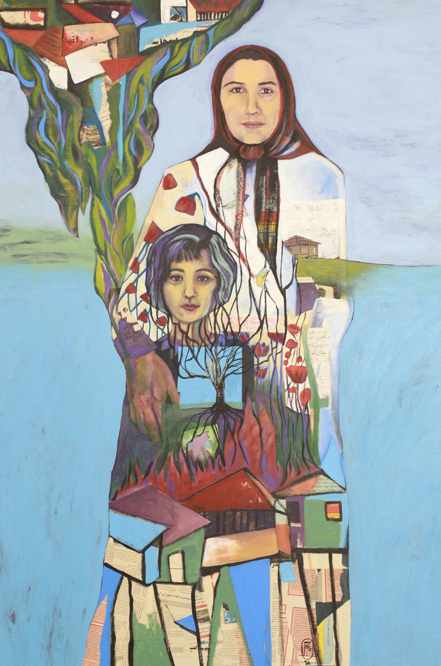 Artwork by Venus Behjati | Portrait2020 | MenhaArt