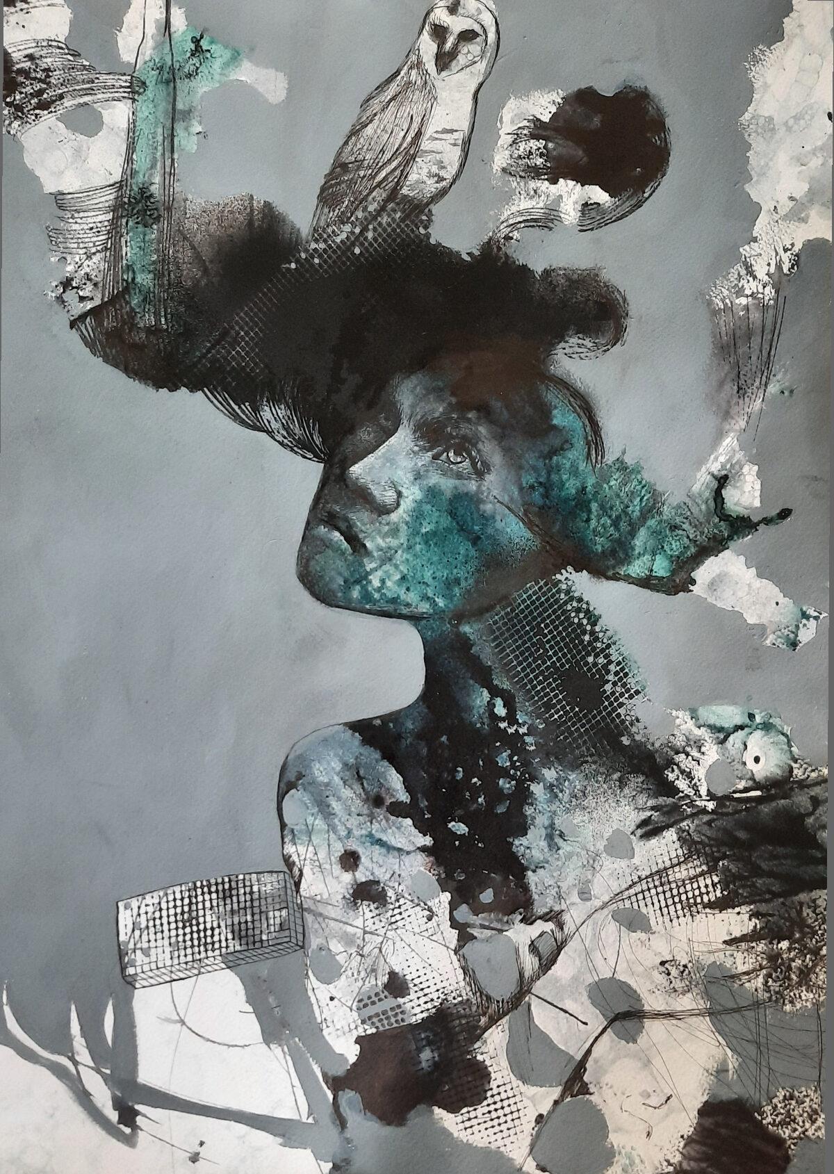 Artwork by Tahereh Solaimani | Portrait2020 | MenhaArt