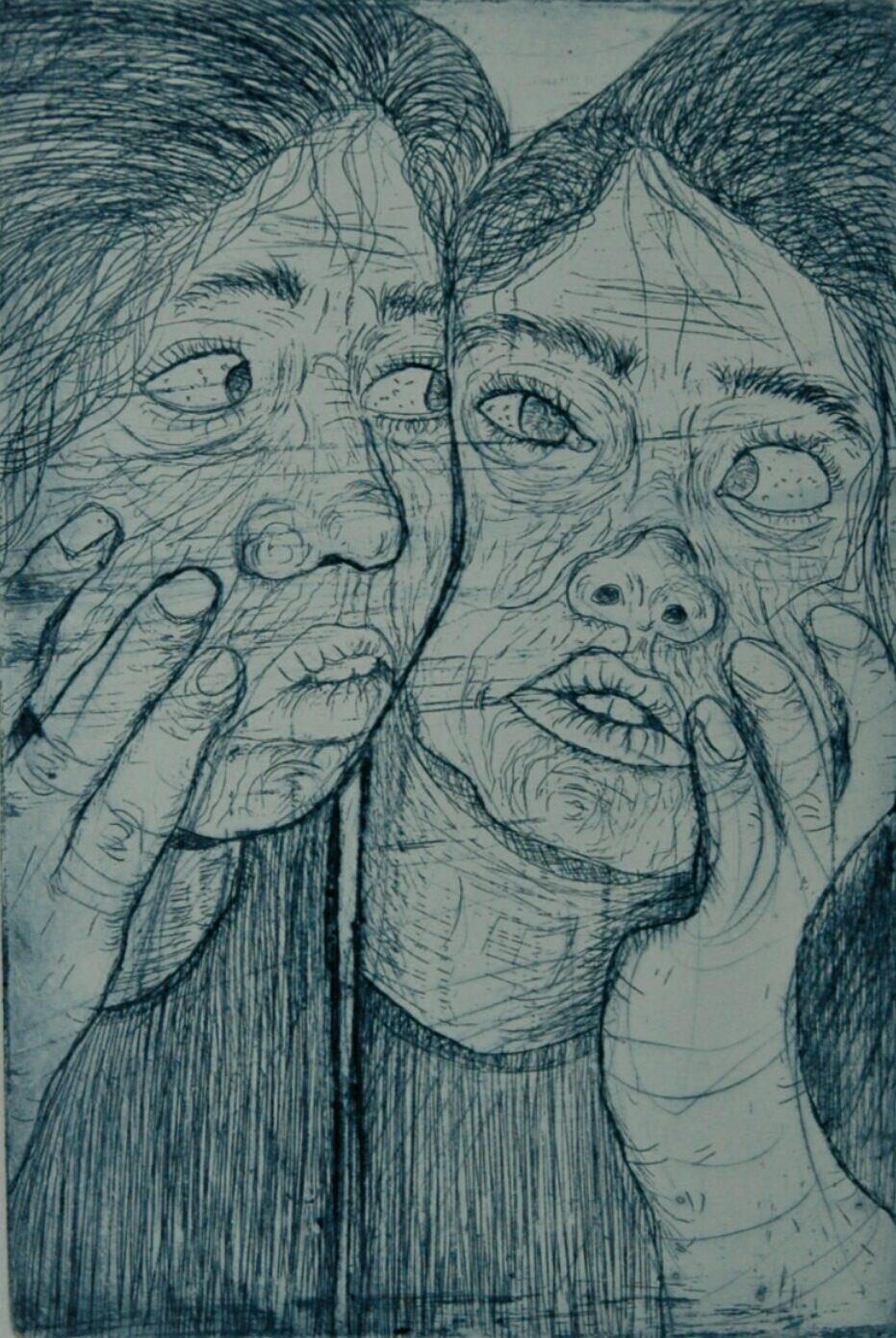 Artwork by Sara Golrokh | Portrait2020 | MenhaArt