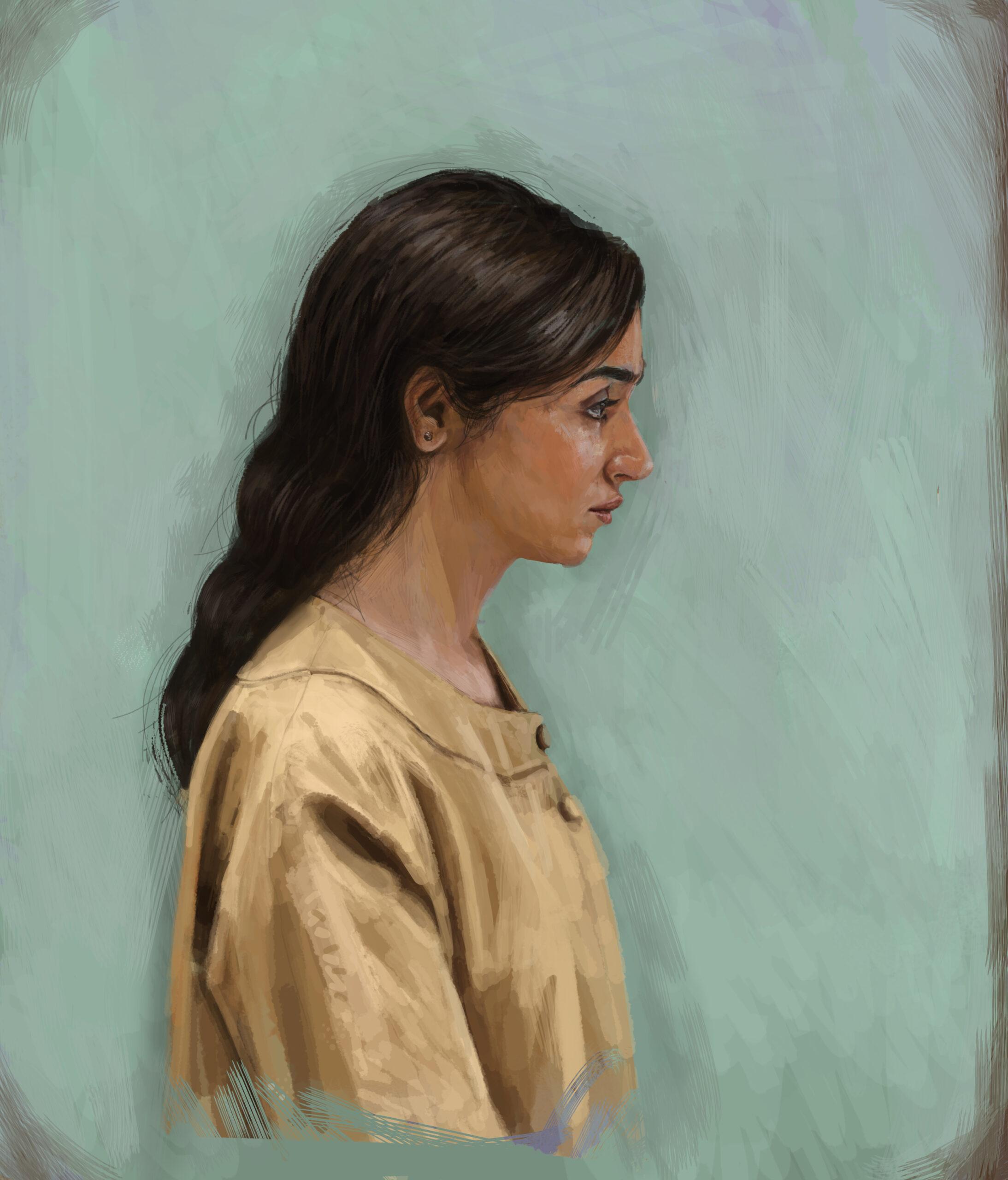 Artwork by Sahar Najafi | Portrait2020 | MenhaArt