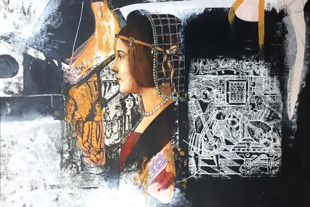 Artwork by Maryam Farhadi | Portrait2020 | MenhaArt