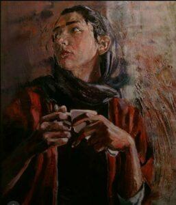 Artwork by Ebrahim Barfarazi | Portrait2020 | MenhaArt