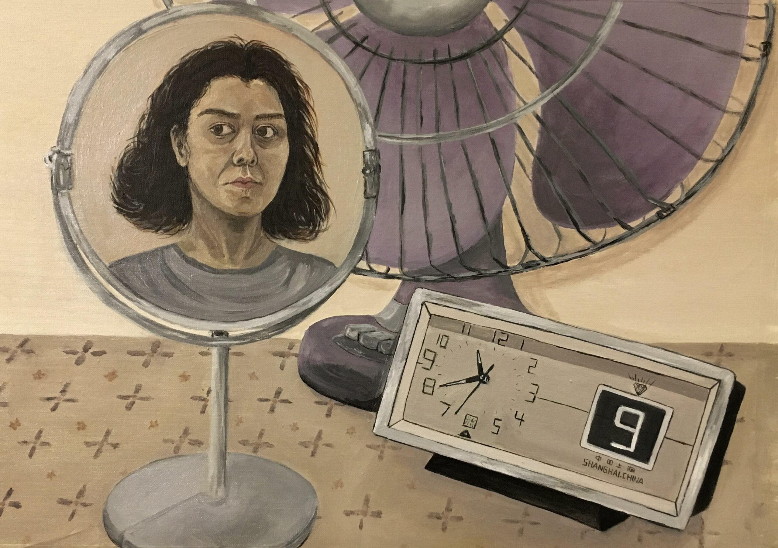 Artwork by Hediyeh Sadeghi | Portrait2020 | MenhaArt