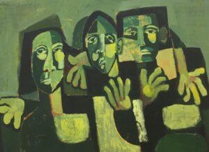 Artwork by Fateme Mozafari | Portrait2020 | MenhaArt