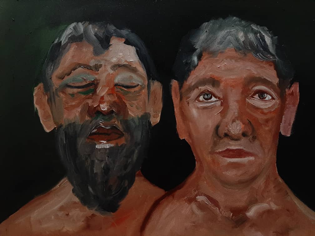 Artwork by Mahfam Bahrami | Portrait2020 | MenhaArt