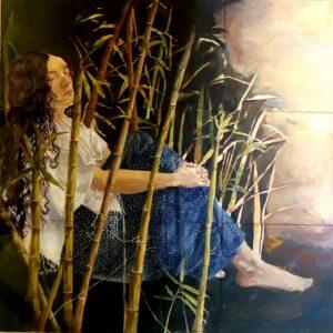 Artwork by Fateme Bagheri | Portrait2020 | MenhaArt
