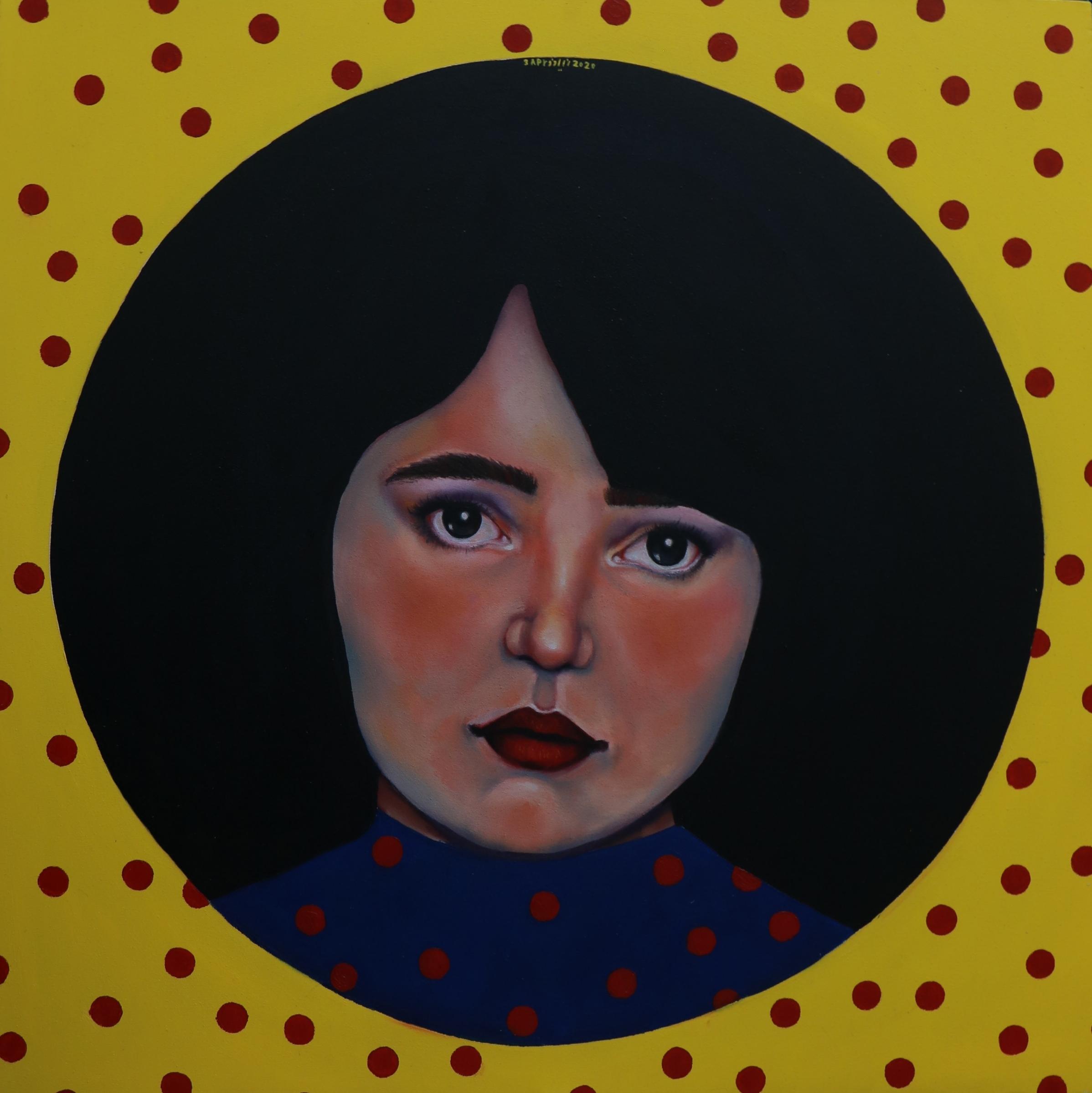 Artwork by Niloufar Mahmoudi | Portrait2020 | MenhaArt