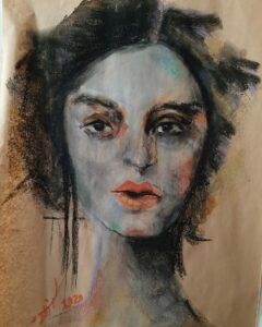 Artwork by Azadeh Bakhshi | Portrait2020 | MenhaArt
