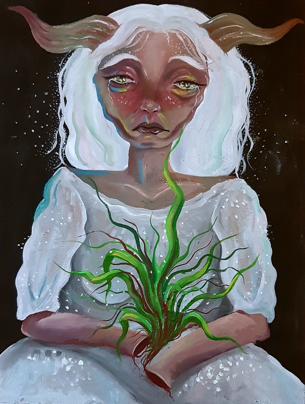 Artwork by Fatemeh(Atneh) Mohammadshahi | Portrait2020 | MenhaArt