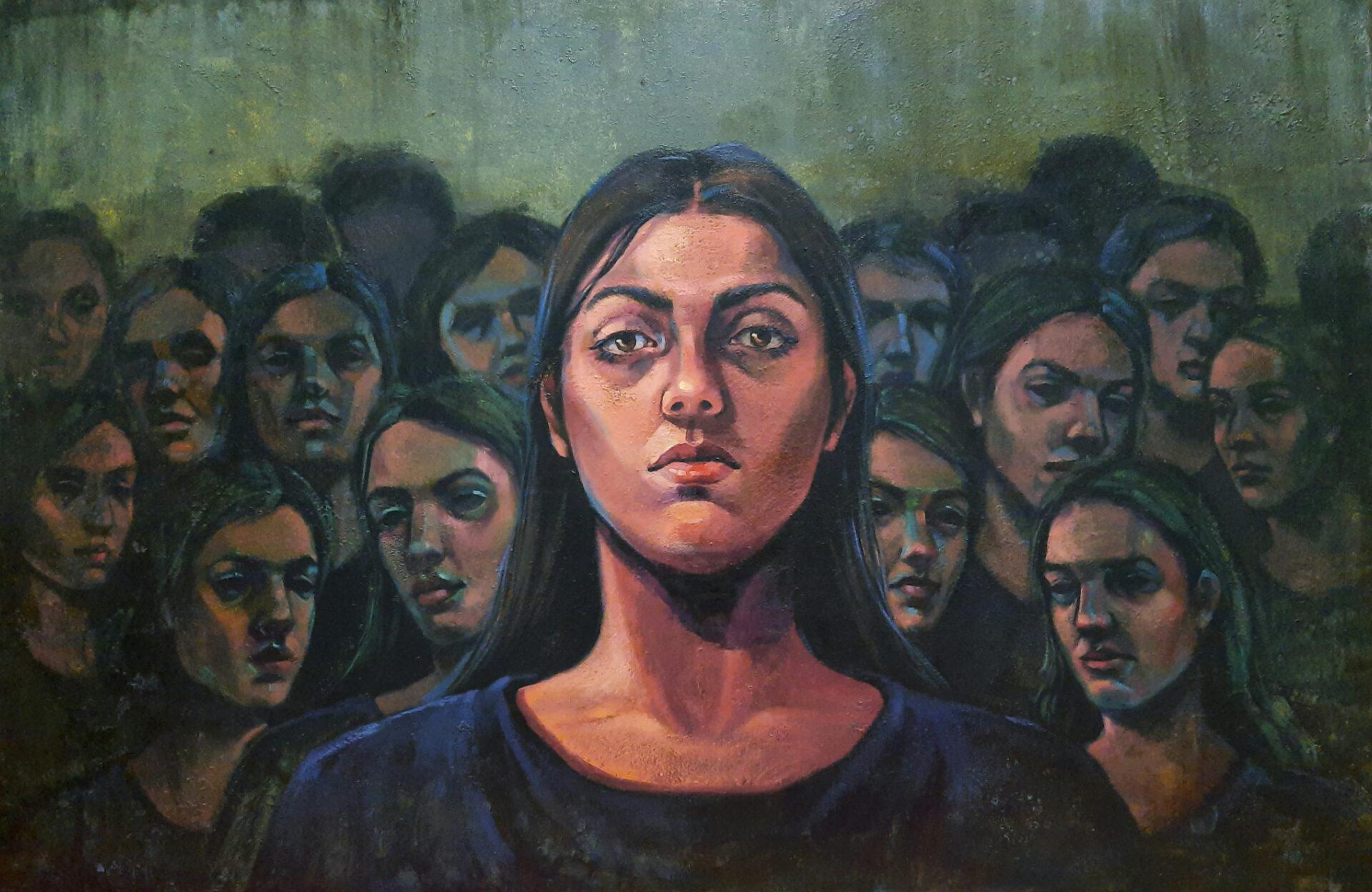 Artwork by Ghazal Felan | Portrait2020 | MenhaArt