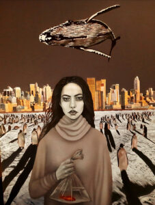 Artwork by Mahnoush Pourhosseini Akbarie | Portrait2020 | MenhaArt