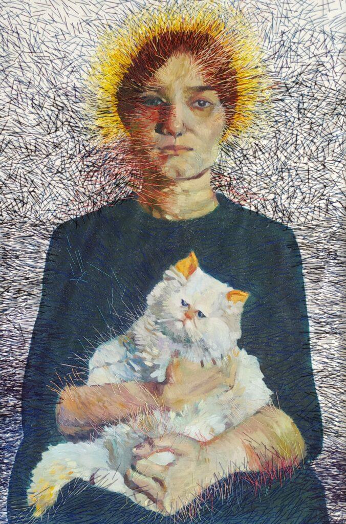 Artwork by Masumeh Arabzadeh | Portrait2020 | MenhaArt