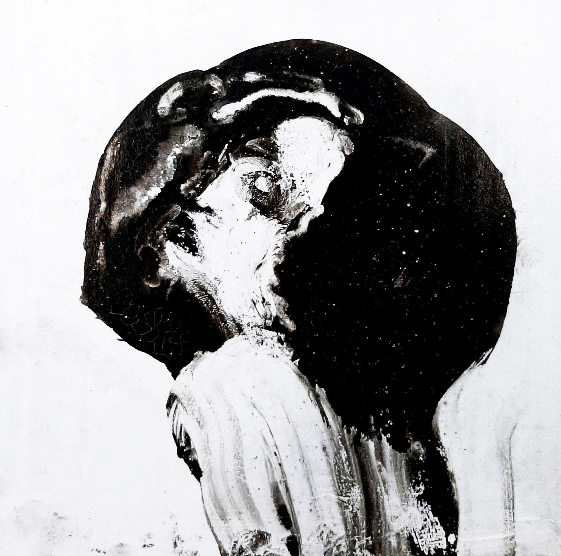 Artwork by Vahideh Ghanbari | Portrait2020 | MenhaArt