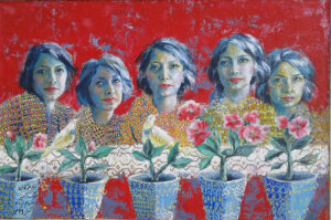 Artwork by Maryam Rangamiz | Portrait2020 | MenhaArt