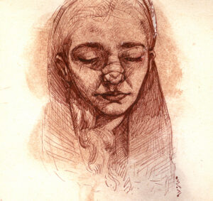 Artwork by Mohsen Safaei | Portrait2020 | MenhaArt